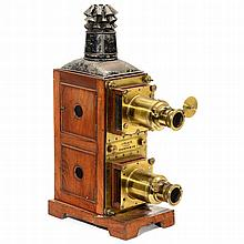 Bi-Unial Magic Lantern by J. Place, Birmingham, c. 1880