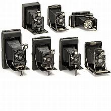 7 Rollfilm and Plate Cameras, from 1913