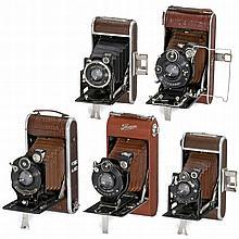 5 Rollfilm Cameras (Brown)
