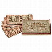 French-Tissue Stereo Card Set