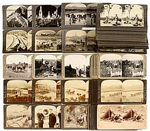 Stereo Cards (Various Publishers) 9 x 18 cm, c. 1900