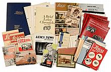 Leitz/Leica Prospectuses, Catalogues and Chronicles