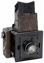 Rare Folding Reflex Camera by Contessa, c. 1913