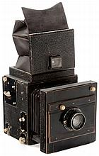 Georg Seltmann SLR Camera (9 x 12 cm), c. 1905