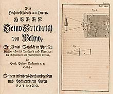 Von dem Sehen und den dazugehörigen Dingen, 1735