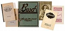 Emil Busch Books and Catalogues, 1909 onwards