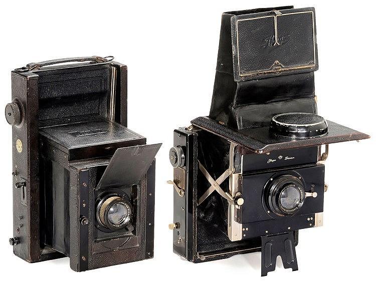 Mentor Klapp-Reflex-Kamera, 1913