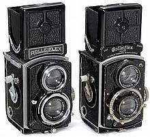 2 x Rolleiflex 4 x 4, 1934 and 1938