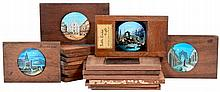 18 Magic Lantern Slides (included Night Views)