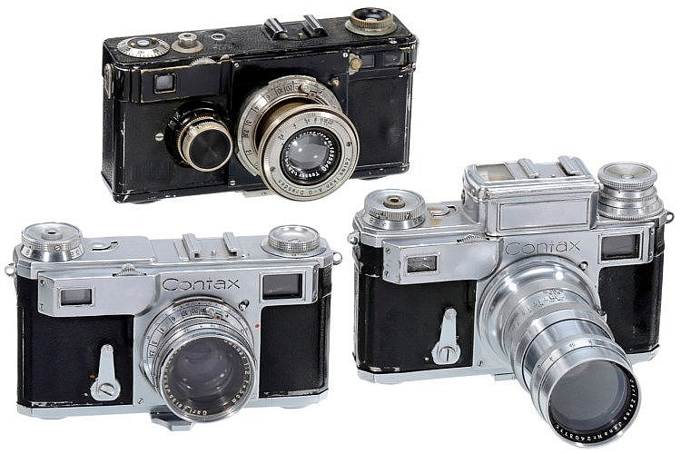 Contax Model I, II and III