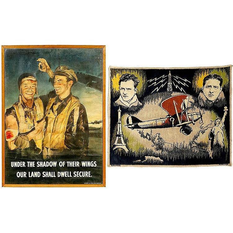 2 Patriotic Pilot Posters