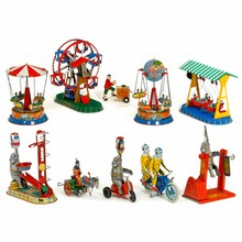 Fairground and Circus Tin Toys, 1990 onwards