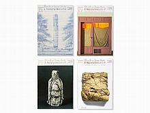 Christo & Jeanne-Claude, Early Works, 4 Posters (Offset), 2001