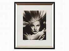 George Hurrell, Shot of Marlene Dietrich, Photo, 1938