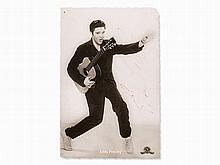 Elvis Presley, Signed Jailhouse Rock Photo Card, c. 1957