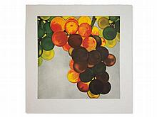 Karin Kneffel, Etching in Colors, Grapes, Germany, 2006