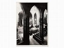 Josef Sudek, St. Vitus Cathedral in Prague, c. 1920s