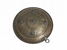 Qajar Ornamental Shield of Bronze, Persia, 19th C.