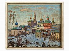 Konstantin I. Gorbatov (1876-1945), Novodevichy Monastery, 1920