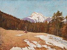Adolf Helmberger (1885-1967), Early Spring in St. Gilgen, 1932