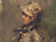 Luigi Conconi (1852-1917), 'Portrait of a Lady', around 1900