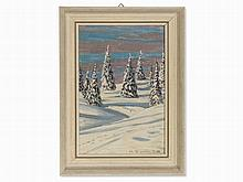 Hermann Dischler (1866-1935), 'Winter am Feldberg', 1907