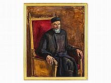 Petr Konchalovsky, Painting, Portrait Dmitri Konchalovsky, 1934