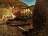 Eduard Ameseder (1856-1938), Painting, Vernazza/Italy, c. 1930