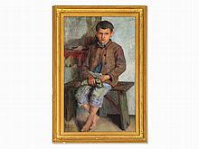 Nikolaj P. Bogdanov-Belsky, Painting, Boy with Letter, 1930
