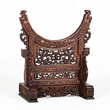 Bi Disc Stand, China, Qing Dynasty, 18th Century