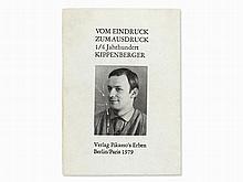 Martin Kippenberger, Vom Eindruck, Signed Book, 1979
