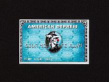 D*Face (b. 1978), Silkscreen, 'American Depress', 2008