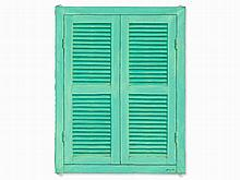 Boufrakech Abdelaziz (born 1962), Window Shutters, 1991