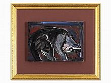 Iberê Camargo (1914-1994), Oil Painting,