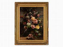 Louis J.-B. Boulangé (1812-1878), Flower Still Life, 19th C.
