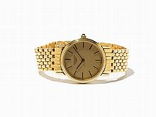 Longines Gold Wristwatch, Switzerland, C. 1990