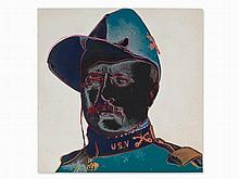 Andy Warhol, Teddy Roosevelt, Serigraph in Colors, 1986