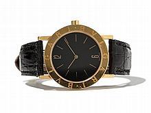 Bulgari Men's Watch, 18K Gold, Switzerland, Around 1990