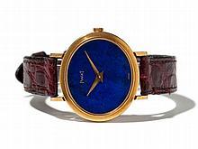Piaget Women's Watch, Lapis lazuli Dial, Switzerland, c. 1980