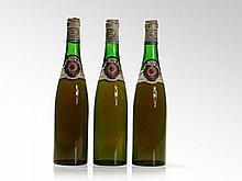 3 bottles 1962 H. W. Rautenstrauch Riesling Spätlese, Mosel