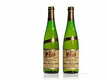 2 bottles 1975 Christoffel-Prüm Riesling Auslese Goldkapsel