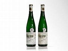 2 bottles 1997 Egon Müller Scharzhofberger Kabinett Riesling