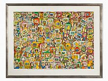 James Rizzi, 'Touch Someone with your Thoughts', 2001