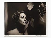 George Hurrell, Joan Crawford, Gelatin Silver, c. 1938/c. 1980