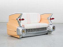 "Cadillac Sofa ""Sunset Boulevard"" With Illumination"