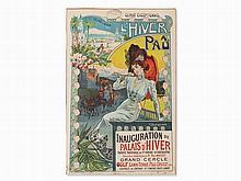 Vincent Lorant-Heilbronn, Poster 'L'Hiver A Pau', c. 1900