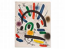 Joan Miro, Colour Lithograph 'Litografia Original II', 1972