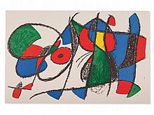 Joan Miro, Colour Lithograph 'Abstract Composition VIII', 1975