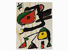 Joan Miró (1893-1983), Lithograph, Composition, 1970s