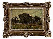 Edmond Petitjean (1844-1925), The Brushwood Collector, c. 1890